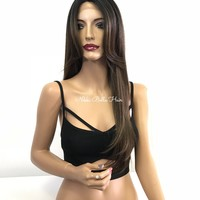 Balayage Invisible Part Lace Front Wig - Mind Your Manners 11814 ON SALE
