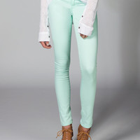 Rsq Miami Womens Jeggings Mint  In Sizes