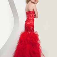Jasz Couture Corset Bodice Dress 4920
