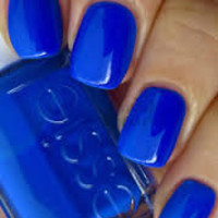 Essie Winter Collection BUTLER PLEASE Blue Nail Polish 819 Lacquer Salon Mani
