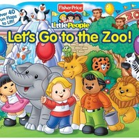 Fisher-Price Little People Let's Go to the Zoo! (Lift-the-Flap)