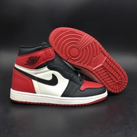 air jordan 1 black toe 555088 610
