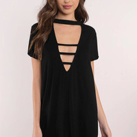 Plunge Into It Shift Dress