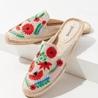Soludos Ibiza Embroidered Floral Mule   Urban Outfitters