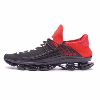 Joomra Men's Sport Running Shoes 2017 Lace-up Exercise Couple Sneakers Breathable Mesh Letter Shoes Size 36-44 Sneakers for Men