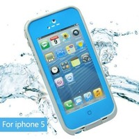 Leang Waterproof Shockproof and Dirtproof Case for iPhone 5 Life Dirt Proof Case Blue+ Cleaning Cloth:Amazon:Cell Phones & Accessories