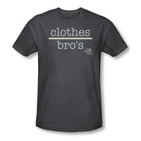 One Tree Hill Drama TV Series Clothes Over Bros 2 Adult Heather T-Shirt Tee