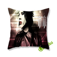 Marilyn Manson Square Pillow Cover