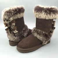 Women's UGG snow boots warm cotton shoes _1686248855-352