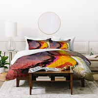Ginette Fine Art Mad Banana 2 Duvet Cover