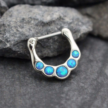 Ice Blue Opal Clicker