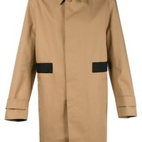 Givenchy Striped Applique Trench Coat - The Webster - Farfetch.com