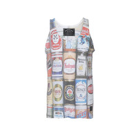 Paradise City Beer Cans Tank Top