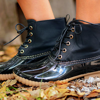 Tonkka Duck Boot Black