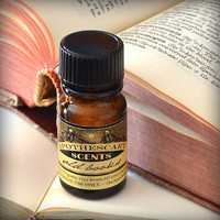 OLD BOOKS Perfume Oil - 1/4 oz - From the Apothescary Scents Literary Classics Collection (vanilla, balsam, leather)