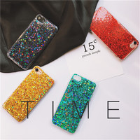 For iPhone 7 7plus Case Luxury Glitter CASE for iPhone 6splus 6 6S 6plus Hard Back New -0318