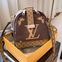 Louis Vuitton LV Fashion Woman Leather Shoulder Bag Backpack Satchel Crossbody Shoulder Bag