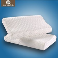 Naturelife Space Bamboo Fiber Pillow Health Care Neck Pillow Memory Foam Pillow Support The Neck Fatigue Relief Drop Shipping