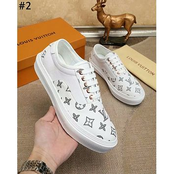 LV 2019 new high-end men's casual wild sports shoes #2