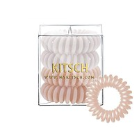 KITSCH - Nude Hair Coils - Pack of 4