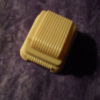 Very Nice Vintage Celluloid Ring Box 1940's made in The Usa
