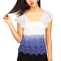 Weeping Lace Top