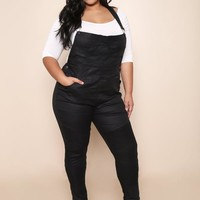Fashionable Plus Size Overall