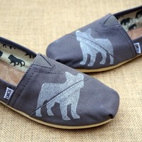 French Bulldog Print Toms Shoes
