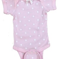 Outlet SASsy Tees Pink and White Polka Dot Onesuit