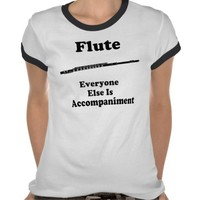 Flute Gift Tshirts from Zazzle.com