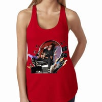 Foo Fighters Dave Throne Red Rock Band Tank Top, Lady Women Fit Tee, Sweater Hoodie Tshirt Tank Top