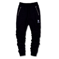 The Inui Ruched Fleece jogger pants