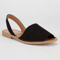 Soda One Womens Sandals Black  In Sizes