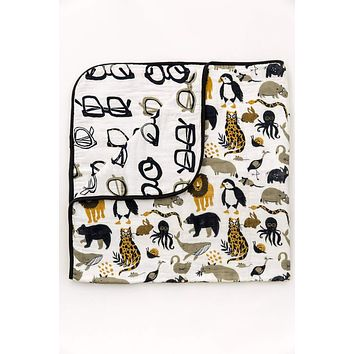 Reversible Quilt - Zoology