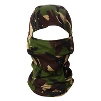 Outdoor Sports 3D Camouflage Camo Headgear Balaclava Face Mask for Hunting Fishing Adjust Cycling Face Mask