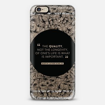 Martin Luther King � Quote #3 iPhone 6s case by Cat Coquillette | Casetify