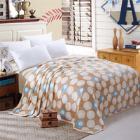 Warm Fleece Printed Throw Blankets - Many Colors Available