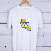 Golden State Warriors Logo W Tshirt T-shirt Tees Tee Men Women Unisex Adults
