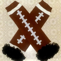Ruffle Football Legwarmers