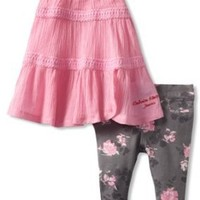 Calvin Klein Baby Girls' Tunic with Printed Pants