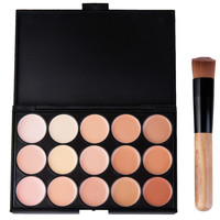 15 Colors Natural Full Cover Concealer Long Lasting Contour Face Cream Smooth Contouring Makeup Highlighter Concealer 1524066
