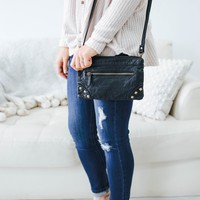 Mirth Crossbody Bag - Black