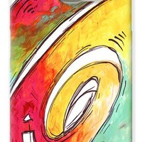 Contemporary Abstract PoP Art Style Original Painting Enjoy Life by Megan Duncanson Galaxy S6 Case for Sale by Megan Duncanson