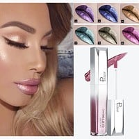 Glitter Shine Full Color Lipstick Long-lasting Liquid Tint