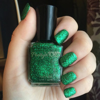 St. Patrick's Day Shamrock Green Nail Polish