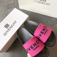 Givenchy PARIS Fashion Women Slipper Sandals Shoes