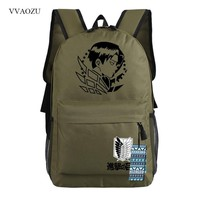 Cool Attack on Titan  Laptop Backpack Women Men Cartoon Travel Shoulder Bags Rucksack Canvas School Backpacks For Teenagers AT_90_11
