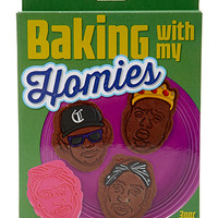 Baking With My Homies Cookie Stamps Orange/Pink One