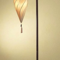 Antiqued Floor Lamp