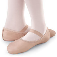 Full Sole Leather Ballet Shoe; Balera